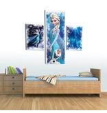Dutch Wallcoverings Canvas set Frozen 2179S14