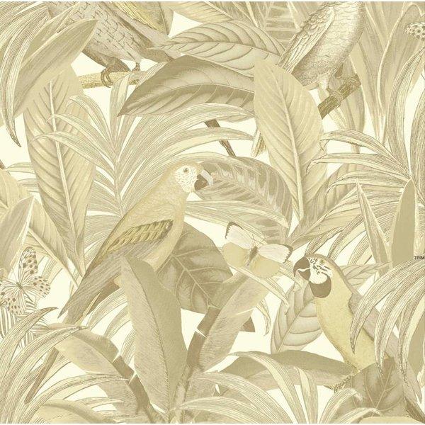 Botanical Papegaai beige