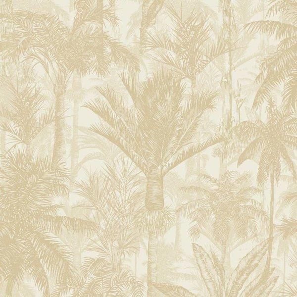 Dutch Wallcoverings Botanical Palmbomen beige