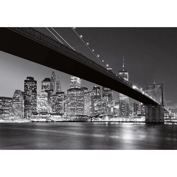 Dutch Wallcoverings Wizard & Genius fotobehang Brooklyn Bridge