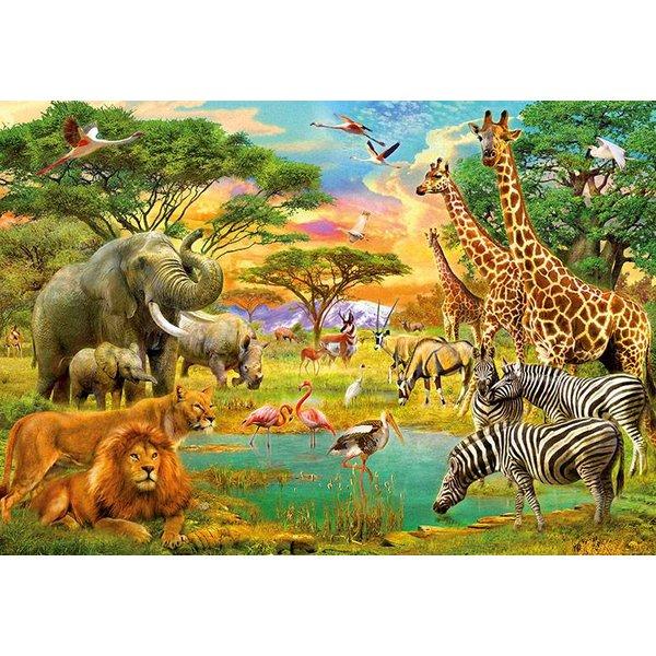 Dutch Wallcoverings Wizard & Genius fotobehang African Animals