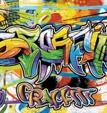 Dutch Wallcoverings Fotobehang Graffiti tekening