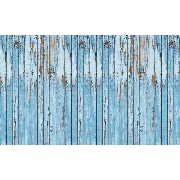 Dutch Wallcoverings Fotobehang Sloophout blauw