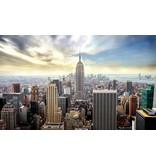 Dutch Wallcoverings Fotobehang New York van boven