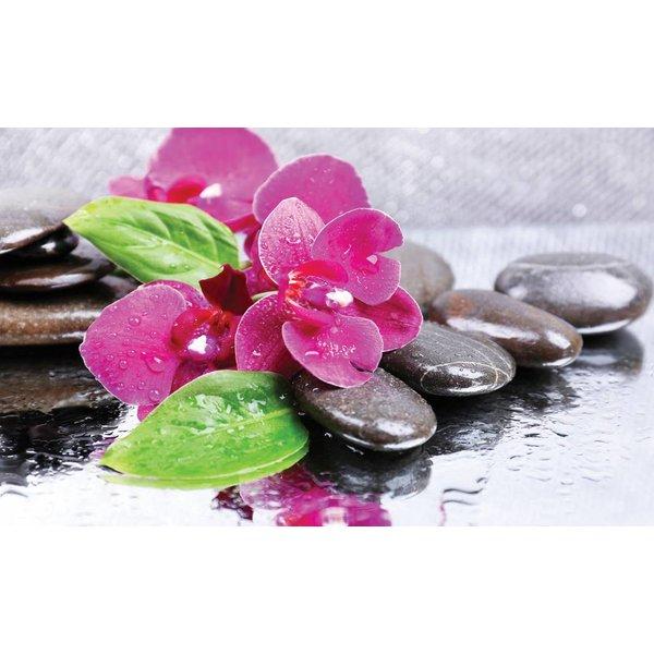 Dutch Wallcoverings Fotobehang Zen stenen roze