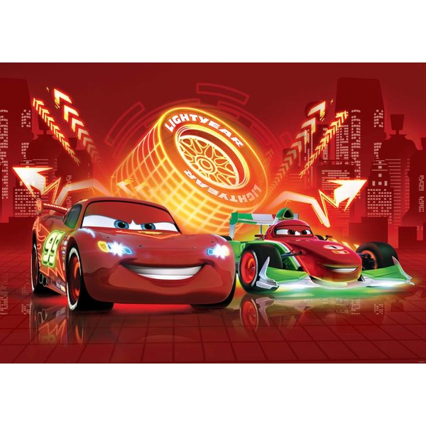 Dutch Wallcoverings Fotobehang Cars lightyear