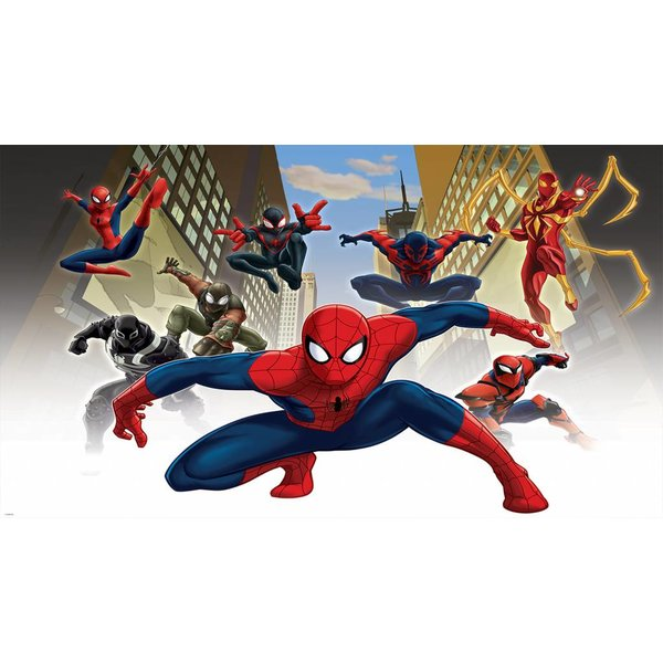 Dutch Wallcoverings Fotobehang Spiderman & friends