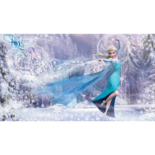 Dutch Wallcoverings Fotobehang Frozen Elsa