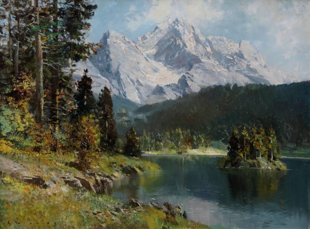 E. Winning (Maler des 19. / 20. Jhdt.)