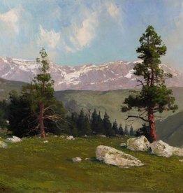 Karl Rohwedder-Ruge (1865 - 1940) » Öl-Gemälde Naturalismus Alpen Hamburger Maler