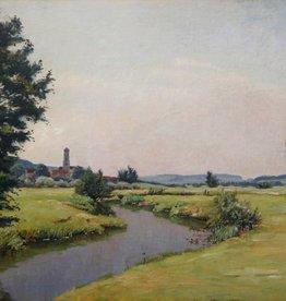 Franz Frankl (1881 - 1940) » Öl-Gemälde Münchner Maler Landschaft süddeutsche Malerei