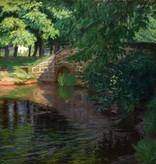 Robert Hoffmann (1868 - 1935) » Öl-Gemälde Impressionismus Park Landschaft
