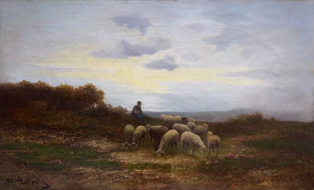 H. Solbrig (Maler des 19. Jhdt.)
