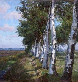 Lonny von Plänckner (1863 - c. 1925) » Öl-Gemälde Impressionismus Dachauer Künstlerkolonie süddeutsche Malerei