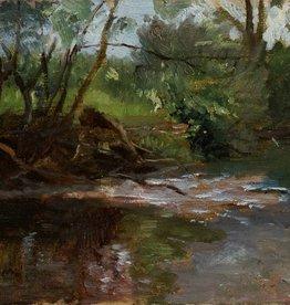 Gustav von Bechtolsheim (1842 - 1924) » Öl-Gemälde Impressionismus Münchner Malerschule