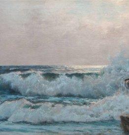 Karl Rohwedder-Ruge (1865 - 1940) » Öl-Gemälde Naturalismus Meer Hamburger Maler norddeutsche Malerei