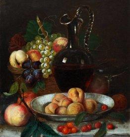 Josef Correggio (1810 - 1891) » Öl-Gemälde Stillleben Biedermeier