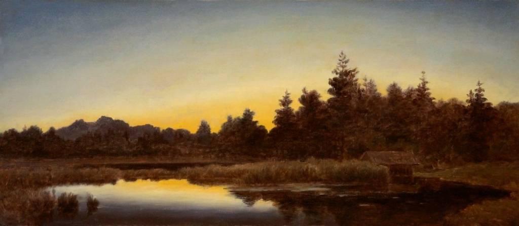 Willibald Wex (1831 - 1892) » Öl-Gemälde Spätromantik Münchner Malerschule