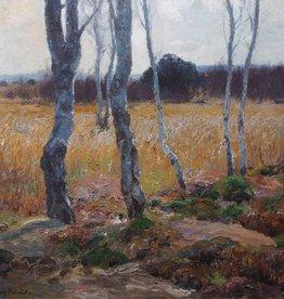 Fritz Brändel (1869 - 1930) » Öl-Gemälde Jugendstil Landschaft Weimarer Malerschule
