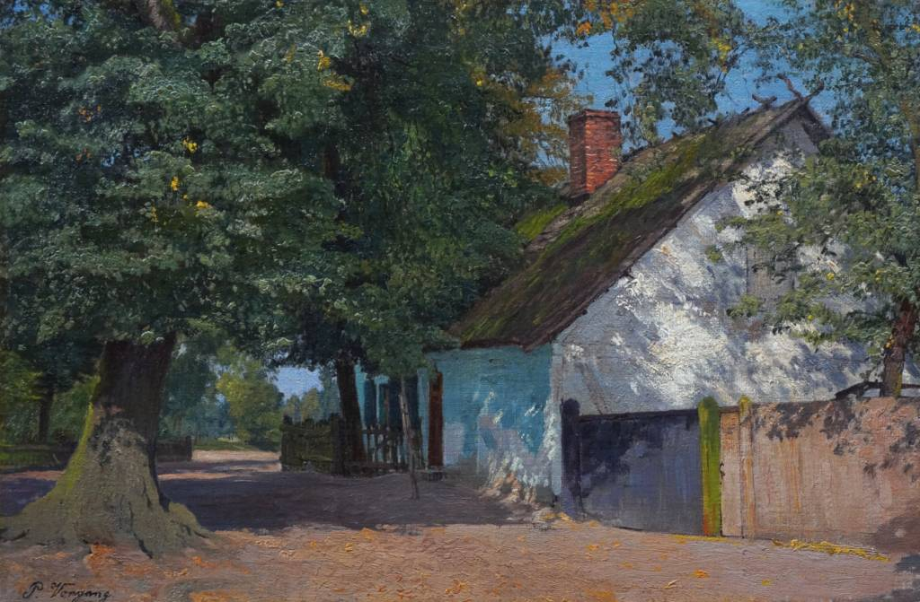 Paul Vorgang (1860 - 1927) » Öl-Gemälde Impressionismus Naturalismus Berliner Maler