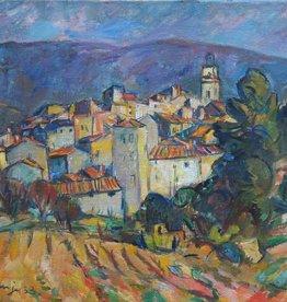Fritz Meijer (1900 - 1969) » Öl-Gemälde Moderne Expressionismus Landschaft