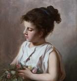 Maler des 19. Jahrhunderts » Öl-Gemälde Porträtmalerei