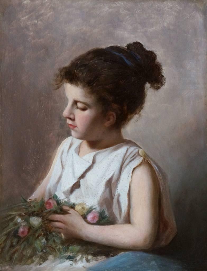 Künstler um 1890 » Öl-Gemälde Porträtmalerei