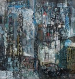 Josef Kroha (*1929) » Öl-Gemälde Moderne abstrakte Malerei
