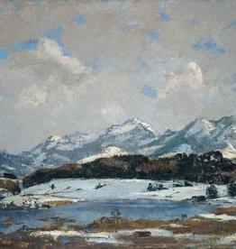 Felix Bürgers (1870 - 1934) » Öl-Gemälde Winter-Landschaft