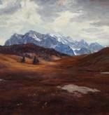 Erwin Kettemann  (1897 - 1971) » Öl-Gemälde Gebirgslandschaft