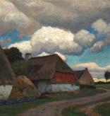 Eugen Kampf (1861 - 1933) » Öl-Gemälde holländische Landschaft Düsseldorfer Malerschule