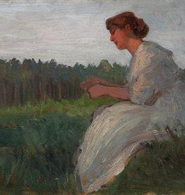 Künstler um 1900 » Öl-Gemälde Jugendstil