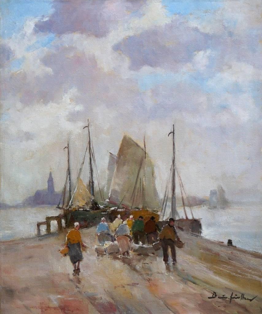 Bruno Jüttner (1880 - 1965) » Öl-Gemälde Impressionismus