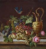 Adalbert Bela Schäffer (1815 - 1871) » Öl-Gemälde Biedermeier Stillleben