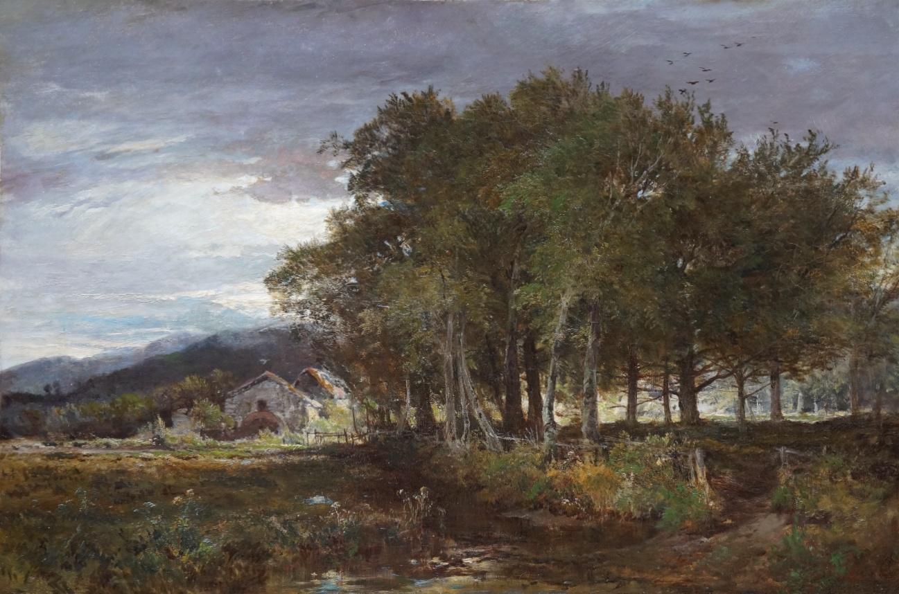 Maler des 19. Jahrhundert » Öl-Gemälde Realismus Landschaftsmalerei