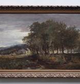 Künstler um 1880 » Öl-Gemälde Spätromantik Landschaft