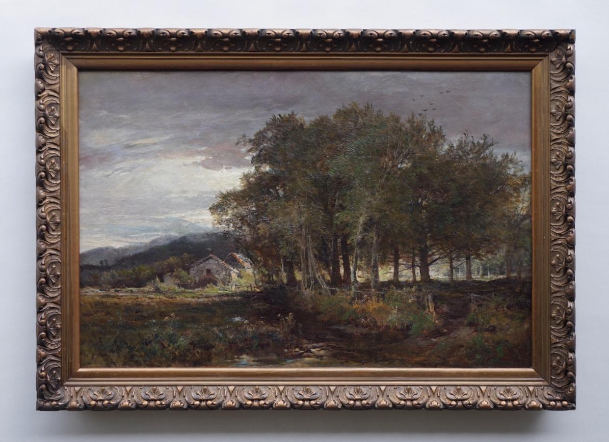 Künstler um 1880 » Öl-Gemälde Landschaftsmalerei