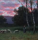 August Splitgerber (1844 - 1918) » Öl-Gemälde Münchner Malerschule