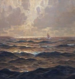 Erich Mercker (1891 - 1973) » Öl-Gemälde Impressionismus Meer