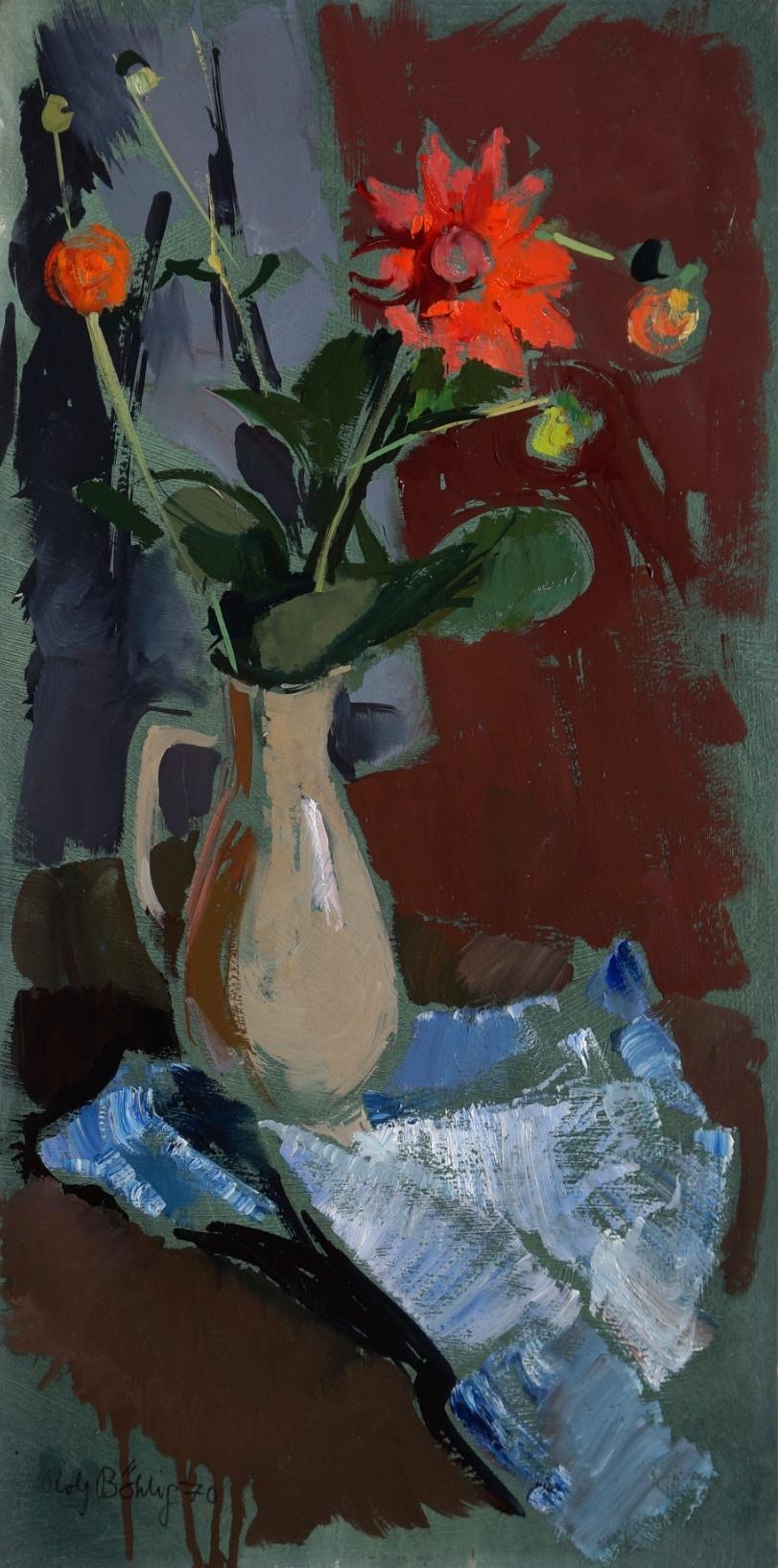 Rolf Böhlig (1904 - 1979) » Gemälde Stillleben Moderne