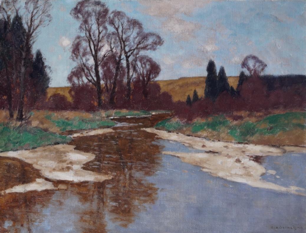 Carl Küstner (1861 - 1934) Ölgemälde