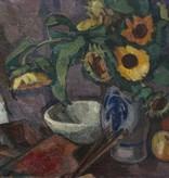 Monogrammist M. G. (Maler des frühen 20. Jahrhundert) » Öl-Gemälde Blumen Stillleben Postimpressionismus