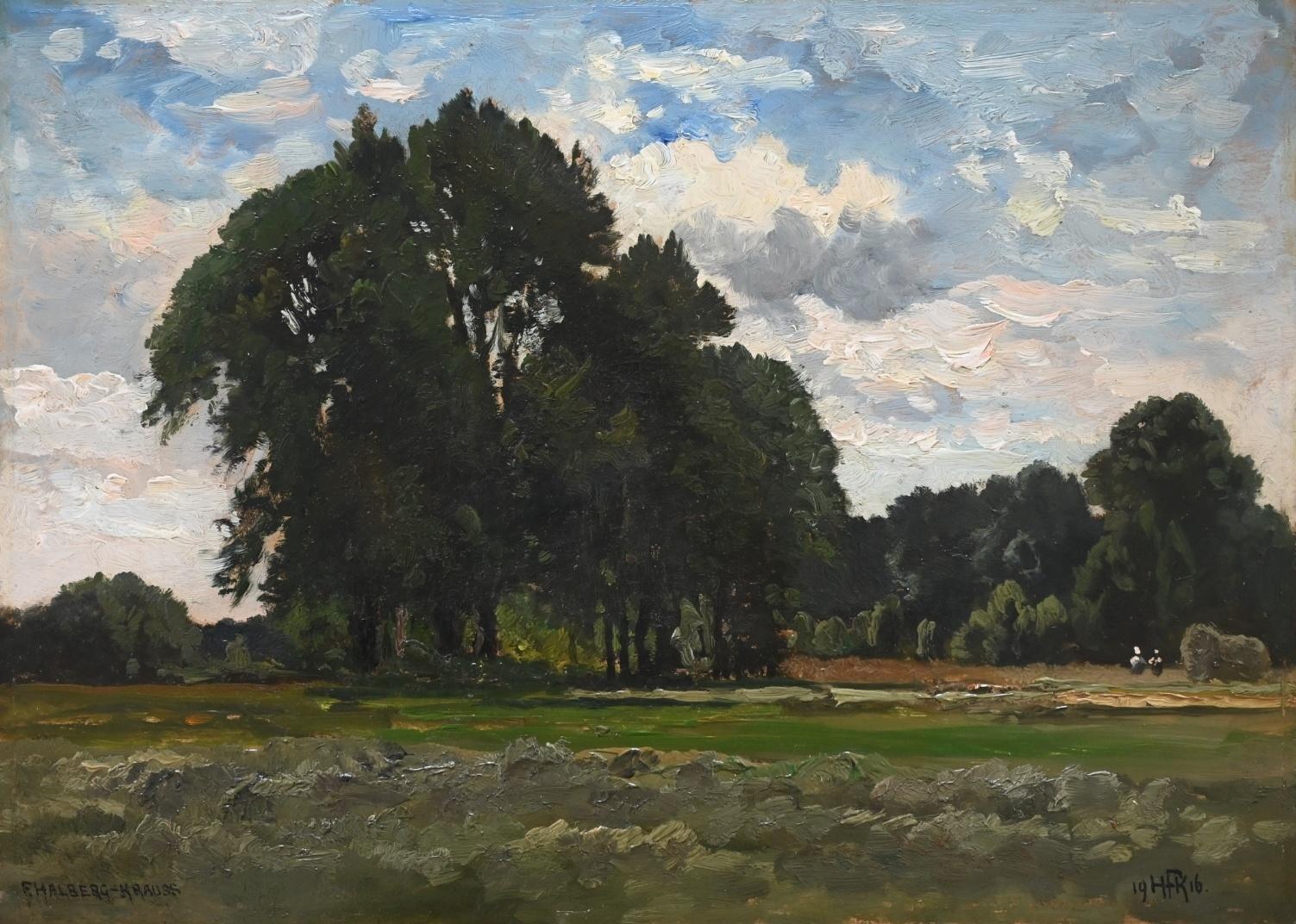 (1874 - 1951) » Öl-Gemälde Impressionismus Münchner Malerschule
