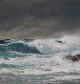 Karl Rohwedder-Ruge (1865 - 1940) » Öl-Gemälde Impressionismus Meer Küstenlandschaft Hamburger Maler norddeutsche Malerei