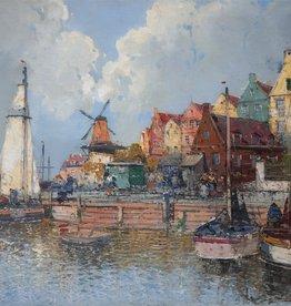 Georg Fischhof (1849-1914) » Öl-Gemälde Meer Küstenlandschaft Wiener Maler österreichische Schule