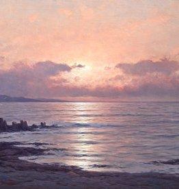 Carl Kenzler (1872 - 1947) » Öl-Gemälde Naturalismus Meer Küstenlandschaft norddeutsche Malerei