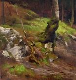 Luitpold Faustner (1845 - 1925) » Öl-Gemälde Spätromantik Münchner Malerschule