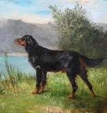 Ludwig Gustav Voltz (1825 - 1911) » Öl-Gemälde Spätromantik Münchner Malerschule