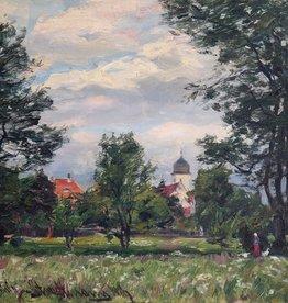 Otto Schulz-Stradtmann (1892-1960) » Öl-Gemälde Impressionismus Landschaft