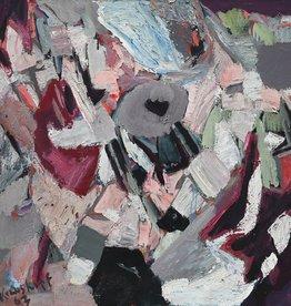 Karl-Heinz Krauskopf (1934 - 1980) » Öl-Gemälde abstrakter Expressionismus Informel Moderne